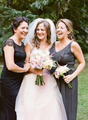 Dark Gray Bridesmaids