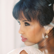 Diamond Drop Bridal Earrings