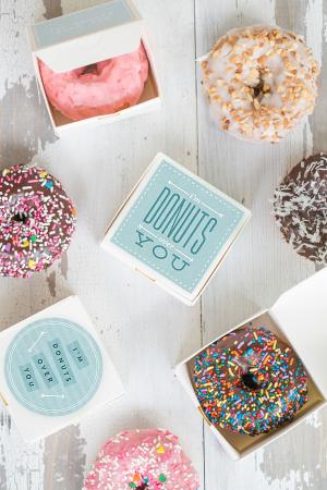 Donut Valentine Printable