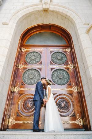 Doors of Salt Lake City Temple