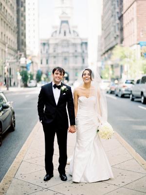 Downtown Philadelphia Wedding Sarah Der