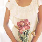 Dried Rose Bridal Bouquet