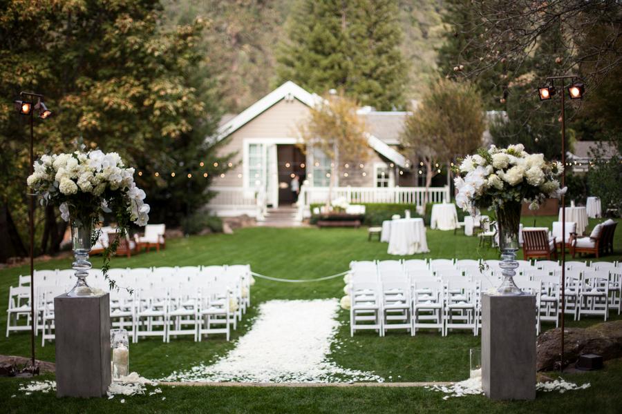 Elegant Backyard Wedding Ceremony - Elizabeth Anne Designs: The ...