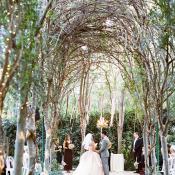 Elegant Botanical Gardens Wedding