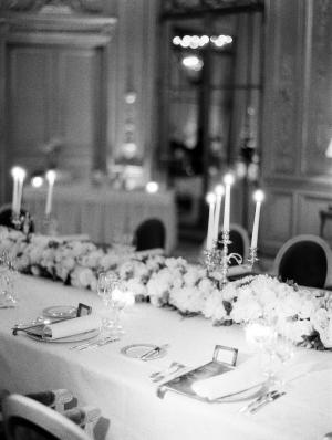 Elegant Candlelight Reception