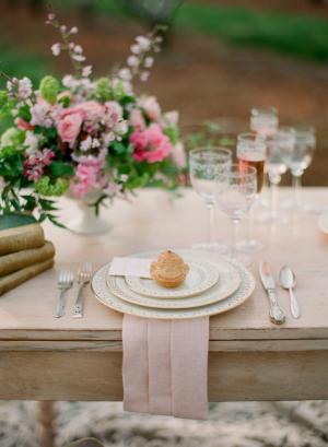 Elegant Gold Wedding China