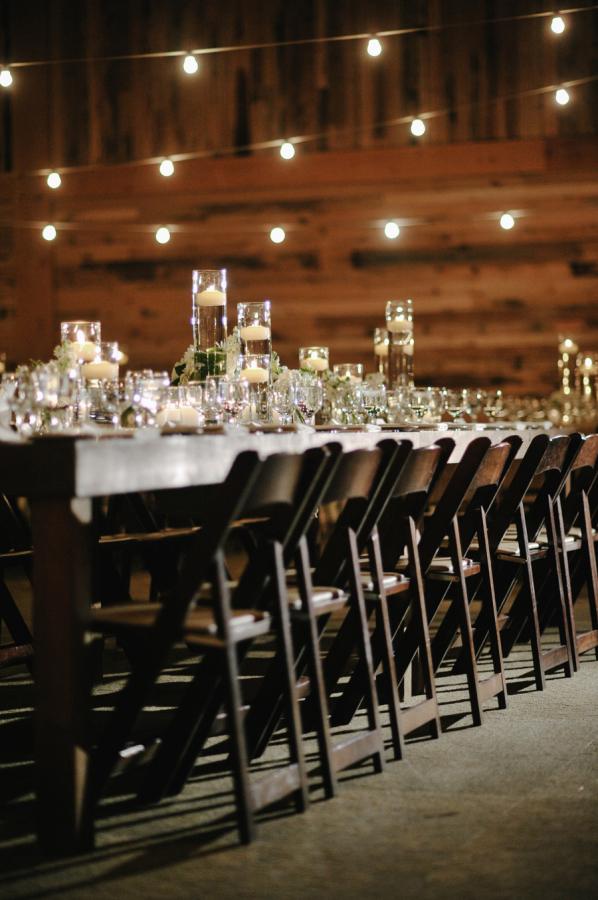 Elegant Lodge Reception Decor