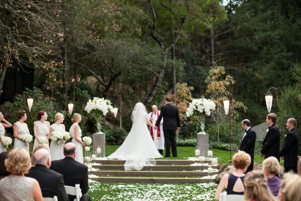 Elegant Outdoor Wedding Ceremony Site Near San Antonio: Elegant Outdoor Wedding Ceremony