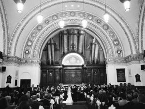 Elegant Philadelphia Church Ceremony