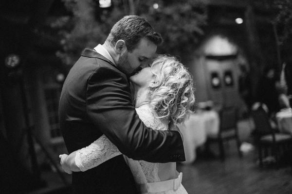 First Dance Lodge Wedding