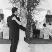 First Dance Tent Dance Floor