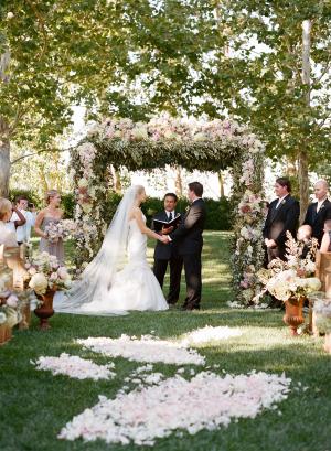 Floral Wedding Arbor