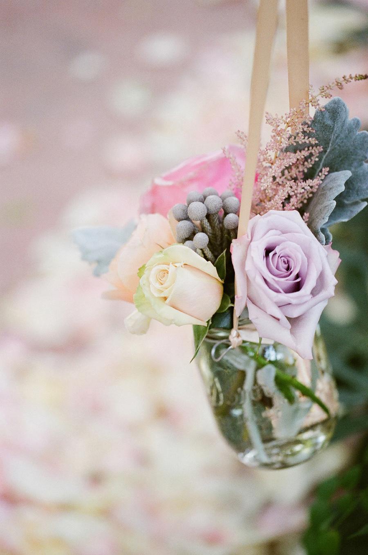 Flowers In Mason Jar Aisle Decor Elizabeth Anne Designs