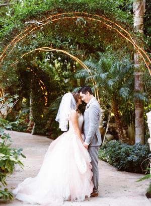 Garden Wedding in California