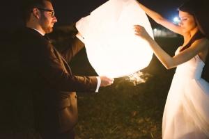 Giant White Lantern Release