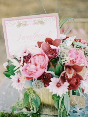 Gorgeous Pink Flower Arrangement