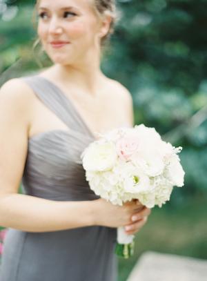 Gray Amsale Bridesmaid