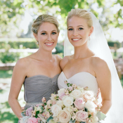 Gray Bridesmaid Dress