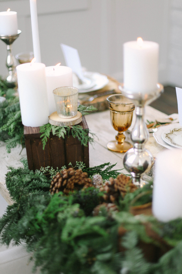 Greenery Garland Centerpiece