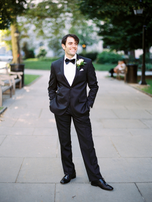 Groom in Classic Tuxedo1
