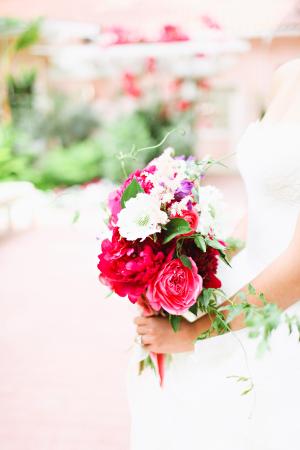 Hot Pink Garden Bouquet