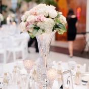 Hydrangea Rose Centerpiece