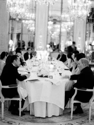 Intimate Paris Reception