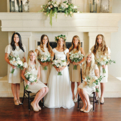 Ivory Bridesmaids Dresses