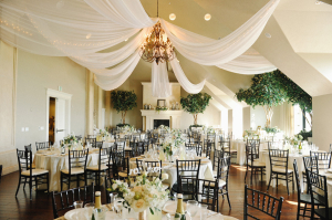 Ivory and Green Reception