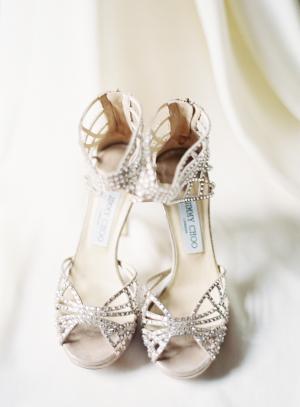 Jimmy Choo Crystal Shoes