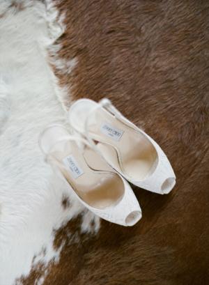 Jimmy Choo Peep Toe Heels