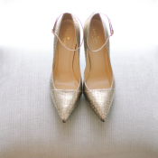 Kate Spade Silver Shoes