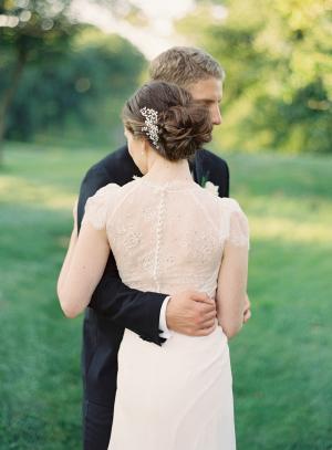 Lace Back Jenny Packham Gown