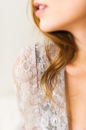 Lace Shirt Boudoir Bridal Inspiration