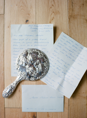 Letters from Bride and Groom