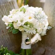 Locket on Bouquet