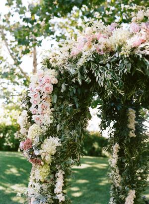 Lush Wedding Arbor