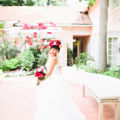Modern Bride in Vera Wang