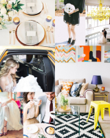 Modern Colorful City Wedding Inspiration