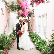 Modern LA Pink Wedding