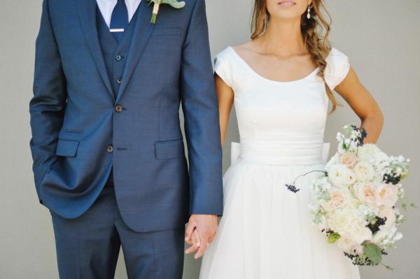 0ecdcb9c286 Navy and Peach Wedding - Elizabeth Anne Designs  The Wedding Blog