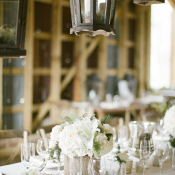 Neutral White Wedding Table