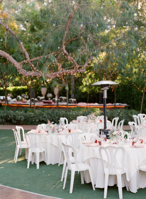 Outdoor Botanical Garden Reception