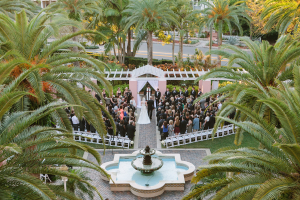Outdoor Florida Resort Weddings