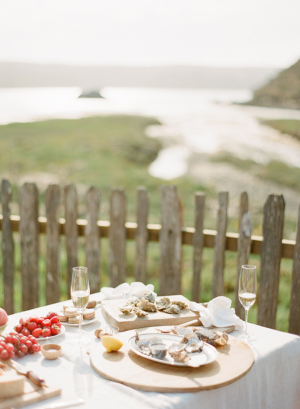 Oyster Picnic on the Beach 1