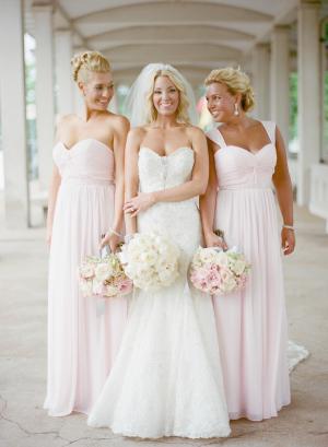 Pale Pink Bridesmaids Dresses2