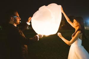 Paper Lantern Release Reception Ideas