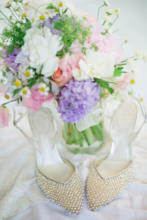 Pearl Bridal Shoes