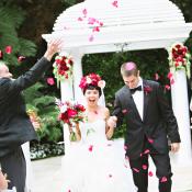 Petal Toss Wedding Ceremony