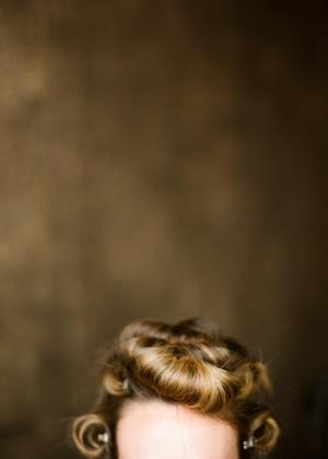 Pin Curls Bridal Hair Ideas